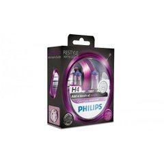 Лампа галогенна Philips H4 ColorVision Purple 12342CVPPS2