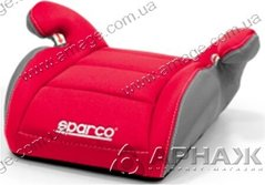 Детское автокресло SPARCO F100K BOOSTER red
