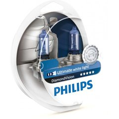 Лампа галогенна Philips H11 Diamond Vision 5000K 12362DVS2