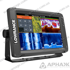 Ехолот-картплоттер Lowrance Elite-12Ti Mid / High / TotalScan