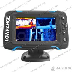 Ехолот-картплоттер Lowrance Elite-5Ti Mid / High / 455/800