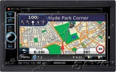 Автомагнитола Kenwood DNX-5280BT с GPS Garmin и Bluetooth