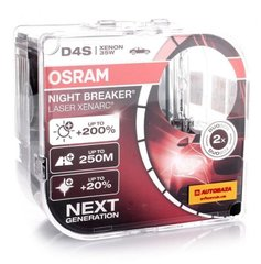 Лампы ксеноновые Osram D4S Xenarc Night Breaker Laser 66440XNL