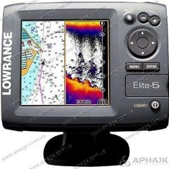 Ехолот-картплоттер Lowrance Elite-7Ti Mid / High / TotalScan
